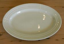"Iroquois China Ripple Ware 12"" Oval Plate Platter Restaurant China"