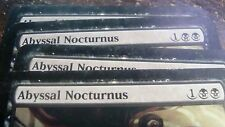 Abyssal Nocturnus x4 Guildpact Played Free Shipping!