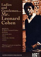 BRAND NEW DVD // LADIES & GENTLEMEN... LEONARD COHEN // CLASSIC B&W 1965 DOCU...