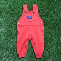 Vintage oshkosh B'gosh overalls 3-6 months made in USA snaps
