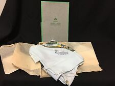 Vintage! Nib Rare London Pure Irish Linen Souvenir Scarf