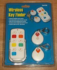 HARBOR FREIGHT COLOR CODED WIRELESS KEY FINDER 97146 NEW/SEALED!