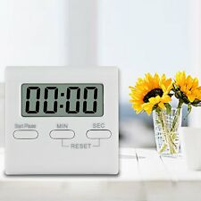 LCD Digital Large Kitchen Cooking Timer Count Down Up Clock Loud Alarm Magnetic