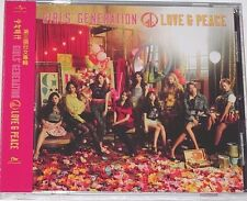 Girls' Generation SNSD LOVE & PEACE Taiwan Edition with OBI (2013) #A8