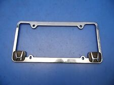 Honda rear licence plate frame surround trim chrome