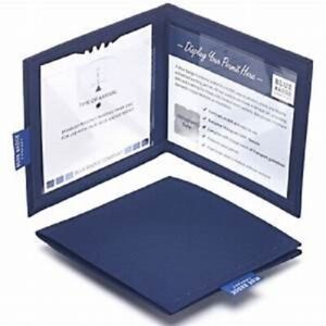 Navy Drill Disabled Badge Permit Holder With Time Clock