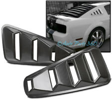 05-14 FORD MUSTANG COUPE QUARTER 1/4 SIDE VENT REAR WINDOW FENDER LOUVERS SHIELD