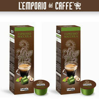 Caffè CAFFITALY Ecaffè Espresso Nocciola 50 Capsule cialde - 100% Originale
