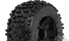 Proline Badlands 3.8' All terrain tires on braqueur Black 1/2' - 1178-11