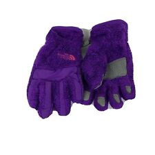 New The North Face Girls Osito Etip Glove Orignblu//Midgry NWT