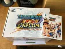 Tatsunoko vs Capcom ultimate all-stars arcade fightstick & game Nintendo wii