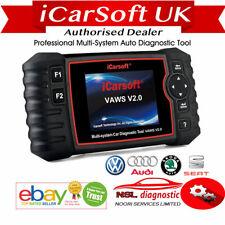 Audi TT Diagnostic Scan Tool & Reset Fault Code Reader iCarsoft VAWS V2.0 SRS UK
