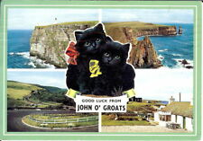 Scotland: Good Luck from John O'Groats, Multi-view - Posted 1988