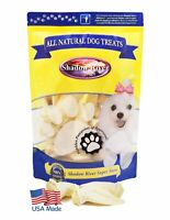 Shadow River USA Premium Lamb Ear Treats for Dogs - 10 Pack Extra Small Size