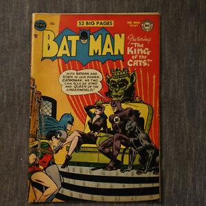 BATMAN FEB MAR #69 1952 (kf)