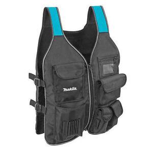 Makita P-72089 Worker's Vest Tool Vest for Carpenters
