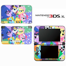 Vinyl Skin Decal Cover for Nintendo 3DS XL LL - My Little Pony Friendship Magic