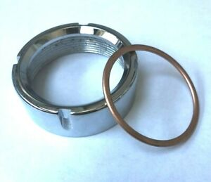 BSA Bantam D14 Exhaust Nut with copper ring A505