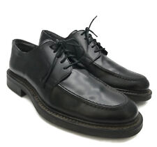 Skechers Collection Made In Italy Black Leather Men's Oxford Lace Up Shoes 8