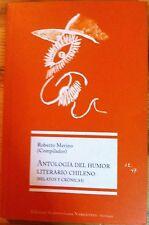 Antologia Del Humor Literario Chileno by Roberto Merino (2002, Book)