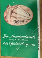 VINTAGE Official THE MEADOWLANDS Program May 3,1982 HARNESS RACING TAKE A LOOK