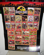 "#9779 Jurassic Park Limited Edition 18"" x 24"" Movie Collector Sheet (Poster)"
