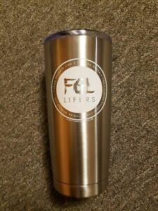 Florida Georgia Line Cup Container Beverage 2017 Lifers Tour Brand New 7.5''