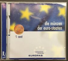 Die 1 Cent Euro Coin Set - Pure Silver 26 Grams