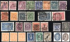 29 GERMANY Deutsche Reich Post Stamps Postage Collection 1920-1932 USED