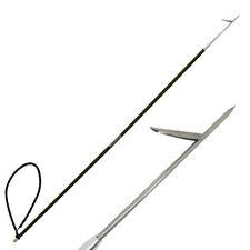 CARBON FIBER 7' Travel Spearfishing 2 Pole Spear Single Flopper Hawaiian Sling