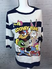 Vintage Chase Authentic Looney Tunes Shirt XL? Long Sleeve Stripped Shirt