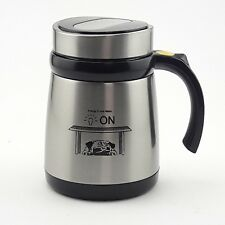 Self Stirring Cold&Hot Stainless Steel Mug Auto Mixer Tea Sugar Travel Cup