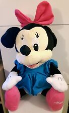 MINNIE PELUCHE ORIGINALE DISNEY - 45Cm.- Topolino Plush Minny Mickey Mouse Teddy