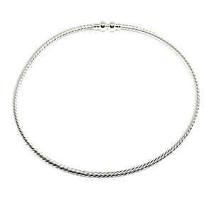 silver plated twisted beadable jewelry neckwire necklace choker base