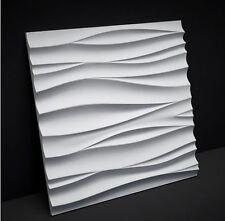 """plastic MOLD for plaster 3D panels  """"Horizon"""". set of 2"""