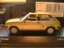 RARE MINICHAMPS 1/43 1st EDITION 1976 FORD FIESTA MK 1 ONLY 3024 PCS WORLDWIDE