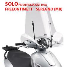 nur Windschutzscheibe GIVI 107A transparent 50,8 x 66CM für PEUGEOT BELVILLE 125