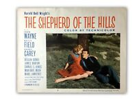 """The Shepherd Of The Hills"" Original 11x14 Authentic Lobby Card Poster 1955 John"