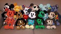 Disney Mickey Mouse Memories Plush Lot of 11 January-Nov. 2018 BRAND NEW W/TAGS!