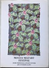 Lincoln Center Mini Poster, Mostly Mozart 1977, Poster Pop Art R62