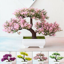 Artificial Pot Plants Bonsai Potted Simulation Pine Tree Indoor & Outdoor Decor