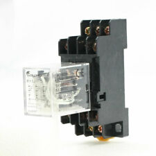 Ac 220v Coil 3pdt 11p 11pins General Purpose Power Relay 5a 250vac28vdc W Base