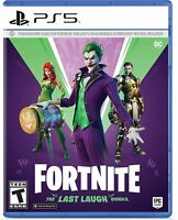Fortnite: The Last Laugh Bundle - Sony Playstation 5 PS5 DC Joker Epic Games NEW