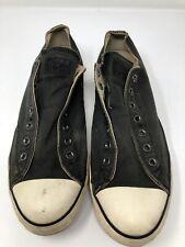 Converse John Varvatos Black Shoes Men's US size 11.5 Women's Size 13.5