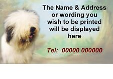 Old English Sheepdog Self Adhesive Address Labels by Starprint