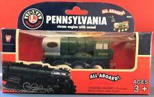 Lionel Train Rare Wooden Pennsylvania Steam w/Sound #50251 Heritage Thomas Brio