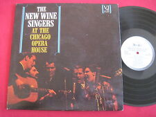 THE NEW WAVE SIGNERS AT THE CHICAGO OPERA HOUSE - VEEJAY VJLP1071 WLP FOLK LP