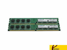 Crucial 4GB (2 X2GB) DDR2 800  PC2-6400 DDR2 DIMM - CT2KIT25664AA800 For Desktop