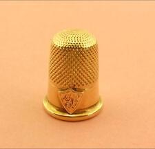 ANTIQUE 14K GOLD THIMBLE EXCELLENT CONDITION 4.1 GMS