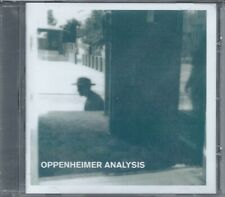 OPPENHEIMER ANALYSIS Songs From The Atomic Age CD *SiGNED* SEALED fad gadget